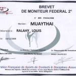 Brevet de Moniteur Fédéral 2ème Degré FFSC et DA - 2008