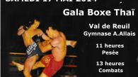 Samedi 17 mai 2014 Cette journée est dédiée à la promotion du Muay Thaï ( de la Boxe du Siam en général )et sera honorée par la présence de quelques...